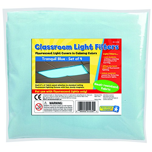 Fluorescent Light Filters: EDUCATIONAL INSIGHTS FLUORESCENT LIGHT FILTERS (TRANQUIL