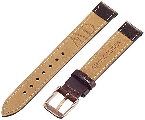 b64f0c9f9 Daniel Wellington 1003DW - Correa de cuero para reloj de mujer, color  marrón (13.0 mm) marca Daniel Wellington
