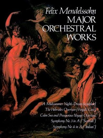 Major Orchestral Works in Full Score