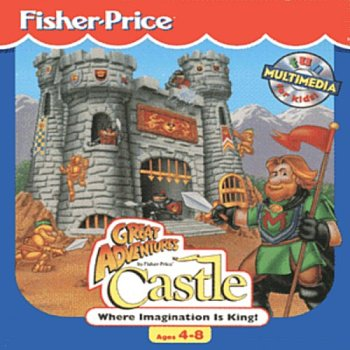 Fisher Price Great Adventures Castle Ages 3-5 Where Imagination Is King! front-995578