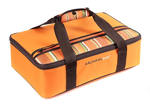 Rachael Ray Lasagna Lugger, Orange (Baking Dish Insulated compare prices)