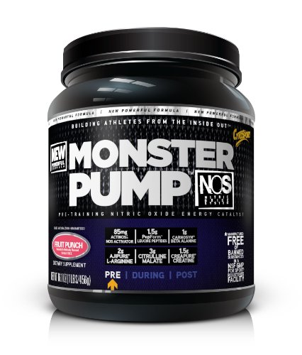 Cytosport Monster Pump Blue Raspberry -- 21.2 Oz