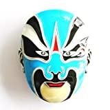 Buckle mask Beijing Opera, China, Asia - Buckle