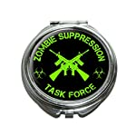 Zombie Suppression Task Force – AK-47 – Biohazard – Green Compact Purse Mirror