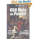 650 Mots de Pouvoir