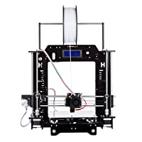 "[ Arrival] HICTOP Filament Monitor Desktop 3D Printer Kits Reprap Prusa I3 MK8 DIY Self-assembly Printing size 10.6"" x 8.3"" x 7.7"" by HIC Technology"