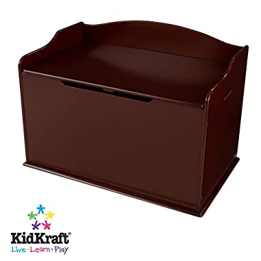 KidKraft Austin Toy Box (Espresso)