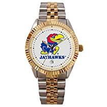 Kansas Jayhawks Suntime Mens Executive Watch - NCAA College Athletics