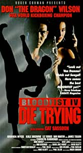 Bloodfist 4: Die Trying [Import]