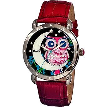 Bertha Women's BR3001 Ashley Red/Multi Stainless Steel Watch