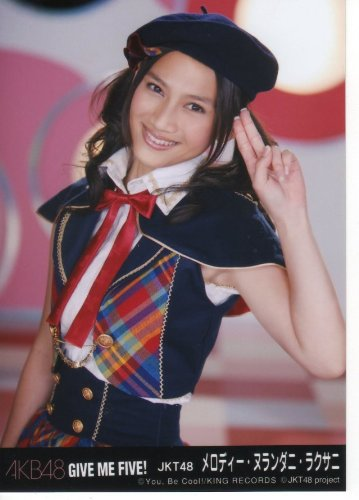 AKB48公式生写真GIVE ME FIVE!劇場盤【メロディー・ヌランダニ・ラクサニ】