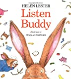 Listen, Buddy (0395854024) by Lester, Helen