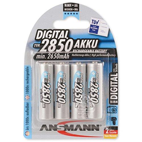 ANSMANN-5035092-Mignon-Aa-Tipo-2850Mah-ad-Alta-Capacit-Utilizzatori-FrequentiProfessionisti-Fotocamere-Digitali-Batteria-4Pz