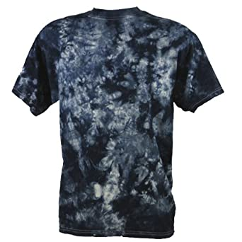 tie dye festival black scrunch t shirt batik clothing. Black Bedroom Furniture Sets. Home Design Ideas