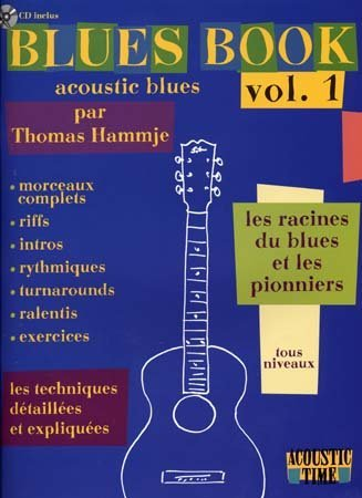 blues-book-acoustic-volume-1-les-racines-et-les-pionniers