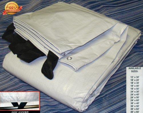 New 18x50 Extra Heavy Duty Waterproof Tarp Black