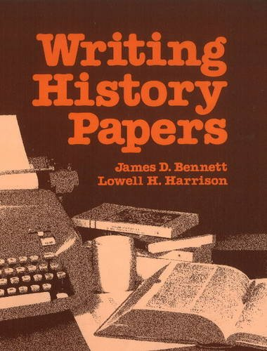 Writing History Papers: An Introduction