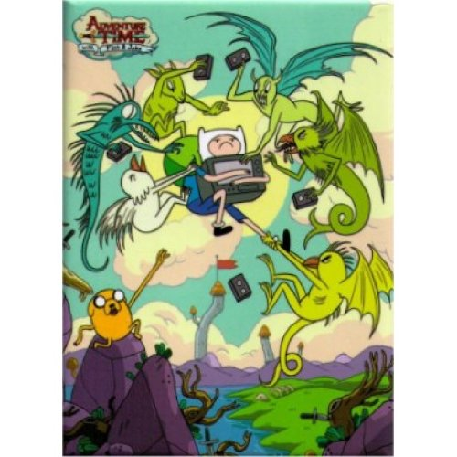 Adventure Time Demon Attack Magnet