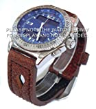 22mm Calf Leather Watch Strap Breitling B1
