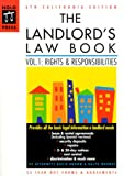 The Landlord's Law Book: California Edition (6th ed) (0873374436) by Brown, David