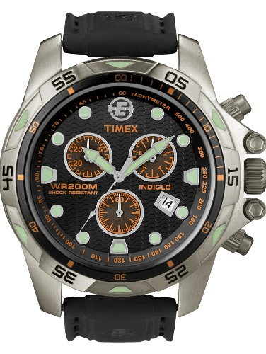 Timex Expedition Men's Watch Dive Style Chronograph