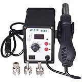 Kohree 110V LED Digital 858D SMD Hot Air Rework Station Solder Blower Heat Gun