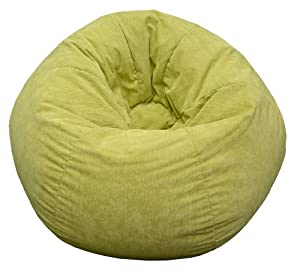 Gold Medal 30008459117 Small Bean Bag for Children, Amigo Suede Pear by Hudson Beanbags