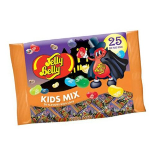 Jelly Belly Kids Mix Jelly Beans Snack Packs 2 Bags (25 Count Each) (Jelly Bean Halloween Costume)