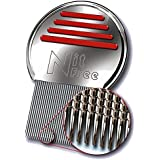 LEVIA Nit-Free Terminator Comb - the Best Head Lice Comb on the Market! Get Rid of Lice & Nits Easily with this Professional Stainless Steel Comb. Full Lice & Nit Removal Is Crucial as Part of Any Head Lice Treatment.
