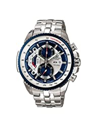Casio Tachymeter Analog Multi-Colour Dial Men's Watch EF-558D-2AVDF