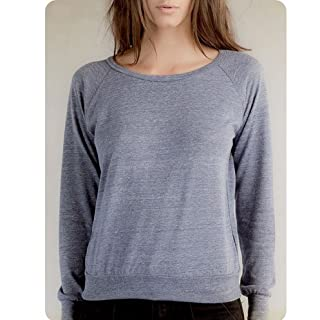 Alternative aa1990 The Slouchy Eco-Heather Pullover - Eco-Navy AA1990 L