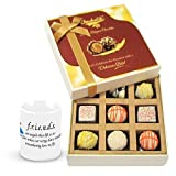 Valentine Chocholik Luxury Chocolates - Elegance In Style Chocolates With Friendship Mug