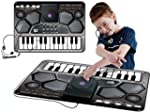 Large DJ Music Style Playmat With 24...