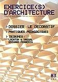 echange, troc Collectif Archibooks - Exercice(s) d'architecture, 3: La revue de l'Ecole Nationale Supérieure d'Architecture de Bretagne