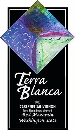 2000 Terra Blanca Estate Red Mountain Cabernet Sauvignon 750 Ml