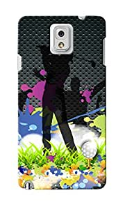 CimaCase Golfing Designer 3D Printed Case Cover For Samsung Galaxy Note 3