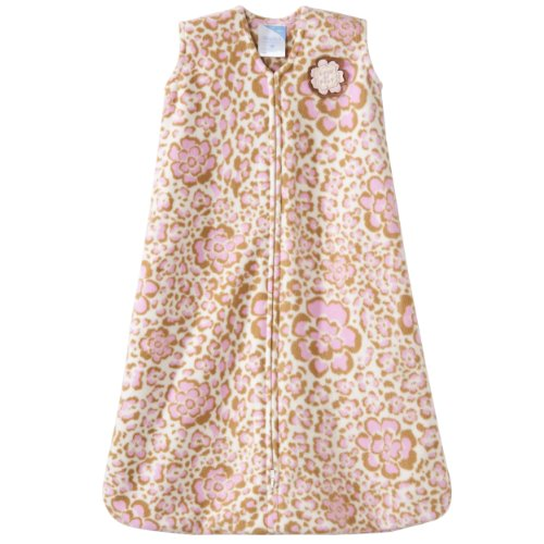 Halo Sleepsack Micro-Fleece Wearable Blanket, Leopard Floral Print, Small (Discontinued By Manufacturer)