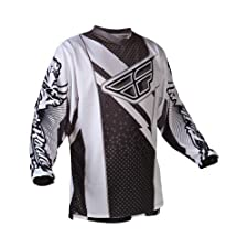 Fly Racing F16 Men's OffRoad/Dirt Bike Motorcycle Jersey Black/White