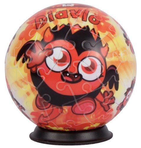 Ravensburger Moshi Monsters-Diavlo Puzzle Ball - 1