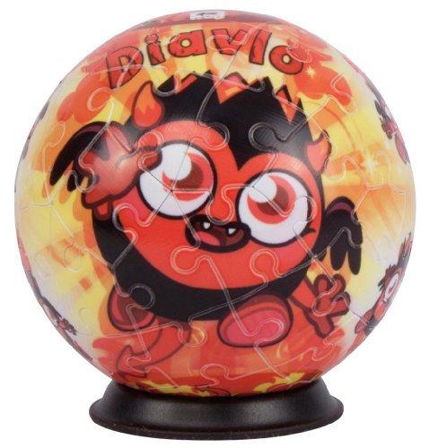Ravensburger Moshi Monsters-Diavlo Puzzle Ball - 1