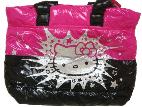 Sanrio Hello Kitty Quilted Puffer Tote Bag