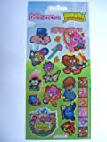 MOSHI MONSTERS (Music Rox!) - LARGE Fun Foiled Sticker Sheet {Sticker Style}