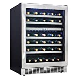 51 Bottle Silhouette Select Built-In Wine Cooler
