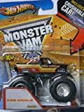 Hot Wheels Monster Jam King Krunch - Includes Crushable Car Max-D