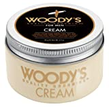 Woodys Flexible Styling Cream For Men, Styling Cream, 3.4 Ounce