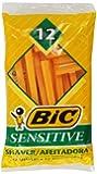Bic Single Blade Shavers Sensitive Skin - 12 ct