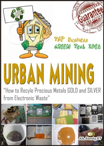 Urban Mining : How to Recycle Precious Metals Gold and Silver from Electronic Waste