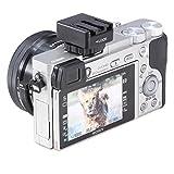 Accessories Best Deals - Neewer negro adaptador de zapata de Flash con adaptador para Auto-Lock Accessory que incluye un multi-de interfaz, de poner a Sony versión Flash, como HVL-F43AM, HVL-F58AM, HVL-F56AM para Sony cámaras de vídeo A7 A7R A7S A6000 NEX-6 A99 A58 RX1 RX1R RX10