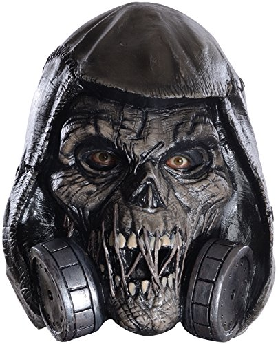 Rubie's Costume Co Men's Arkham Knight Scarecrow Deluxe Latex Mask