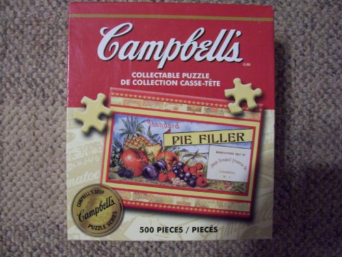 Campbell's Collectable Puzzle, Pie Filler